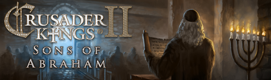 Paradox Releases Sons of Abraham Expansion for Crusader Kings 2