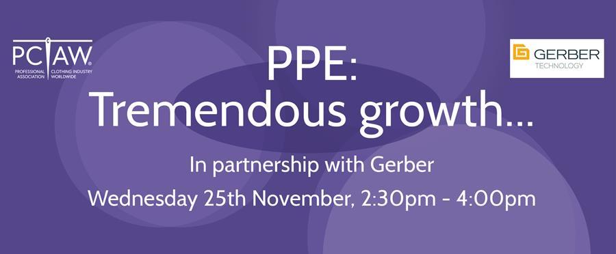 PPE: Tremendous Growth webinar