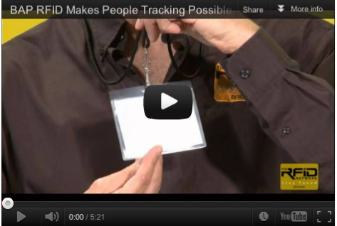 BAP RFID Makes People Tracking Possible