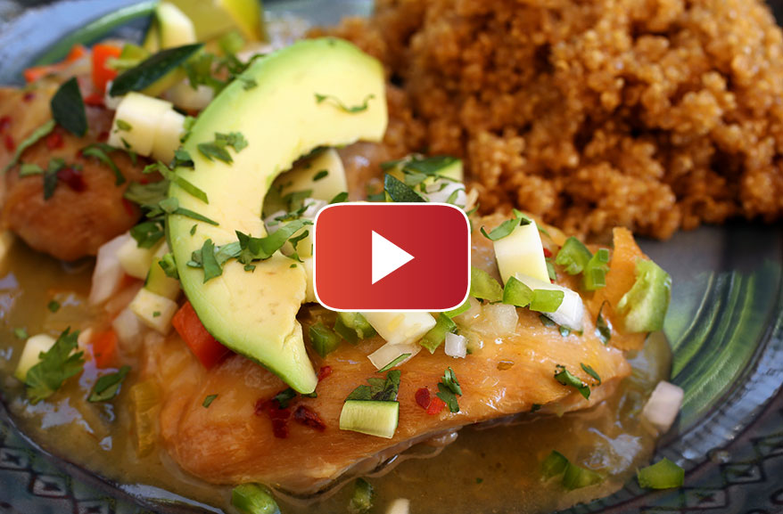 Mexico City-style chicken