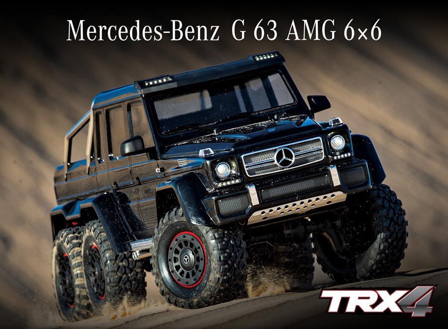 TRX-4 Mercedes-Benz G 63 AMG 6x6