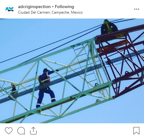 ADC Rig Inspection on Instagram
