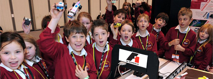 F1 Expands into Primary Schools