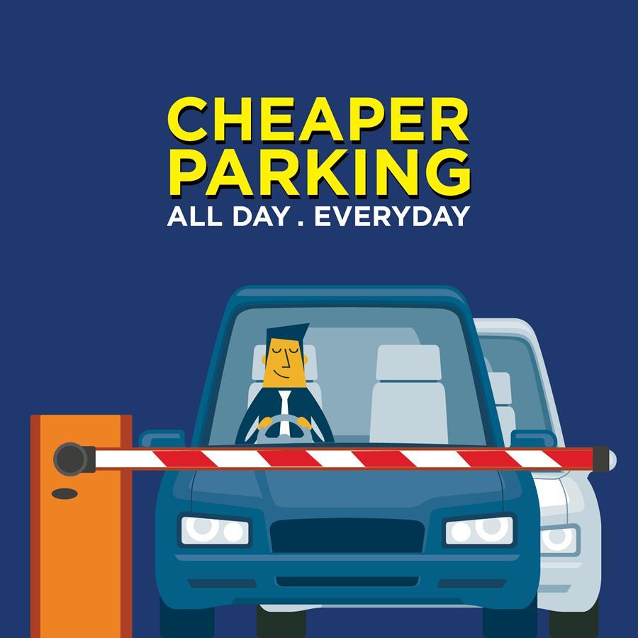 cheap parking at Suntec City