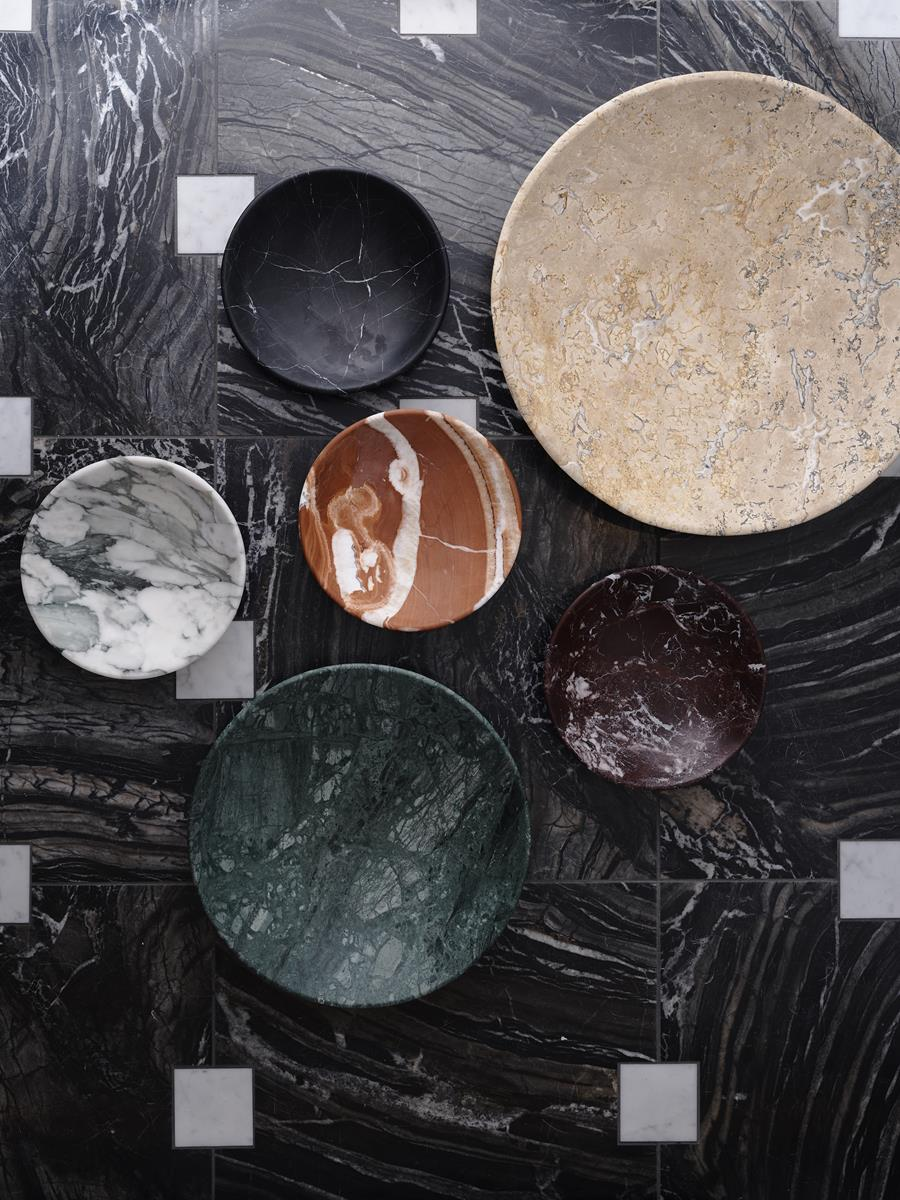 GREG NATALE NIEMEYER BOWL MARBLE COLLECTION