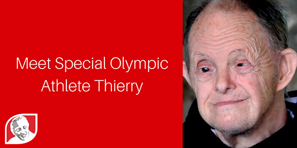 Special Olympic Athlete — Thierry