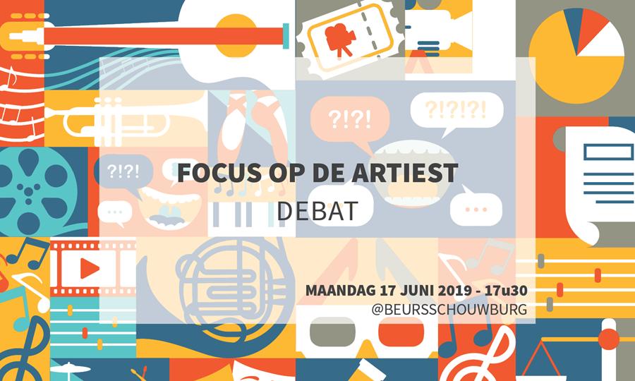 Debat: focus op de artiest (evenement): bevestig je aanwezigheid