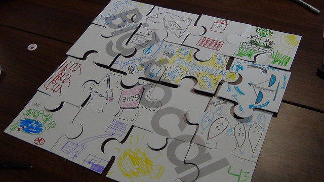 Big Local jigsaw used at Spring Events