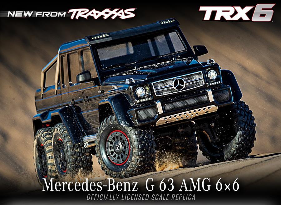 TRX-6 Mercedes-Benz G 63 AMG 6x6