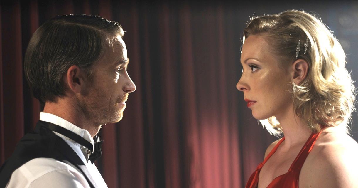 Brett Stewart and Sia Trokenheim in 'Everything We Loved' (dir. Max Currie)