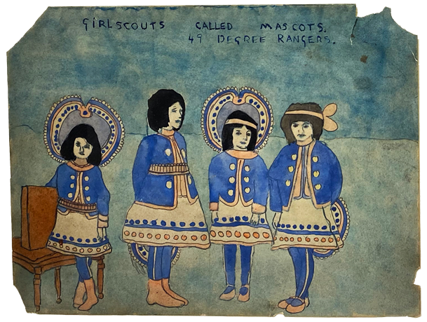 https://oafparis2020.viewingrooms.com/privateviews/andrewedlingallery-d636cd8557172973fb799a/15-henry-darger-girl-scouts-called-mascots-49-degree-rangers-n.d./