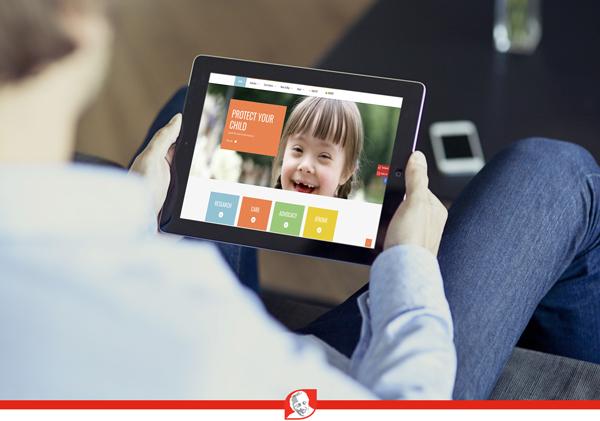 Jerome Lejeune Foundation website in iPad