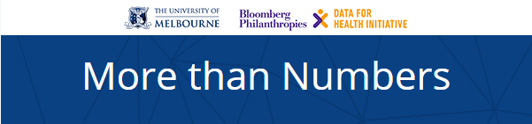 The University of Melbourne and the Bloomberg Philanthropies Data for Health initiative