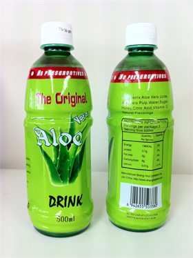 Wholesale stock - Aloe Vera 500mL bottle