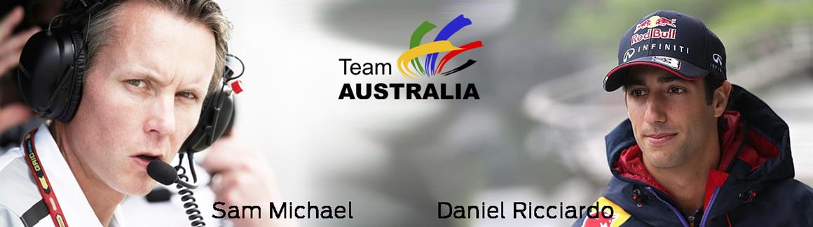 Aussie Mentors Support Team Australia in Abu Dhabi