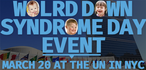 World Down Syndrome Day Event graphic