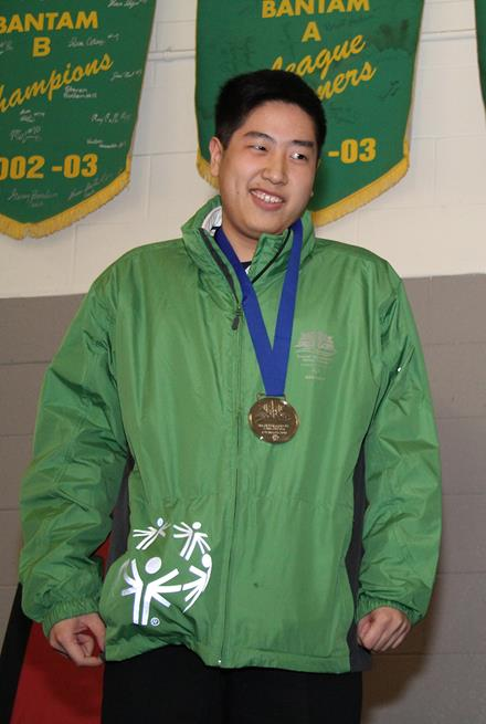 Special Olympics BC - Vancouver figure skater Jeff Leung