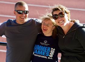 Special Olympics BC – Richmond coach Chris Vanderwel