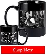 Joe Bonamassa How Many Guitars Does One Man Need? Mug