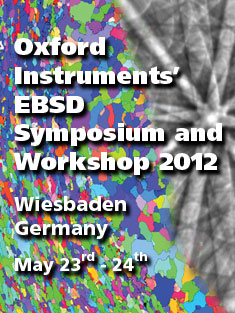 EBSD Symposium and Workshop 2012