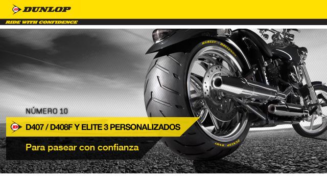 Dunlop Custom D407/ 408F & Elite 3
