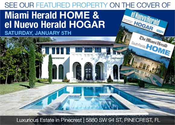 Luxurious Estate in Pinecrest for Sale