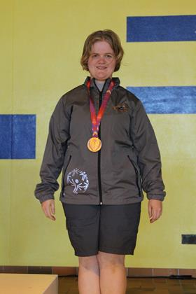 Special Olympics BC – Delta athlete Courtenay Rekis