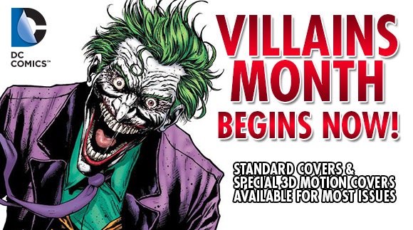 DC Villains Month & Forever Evil at TFAW