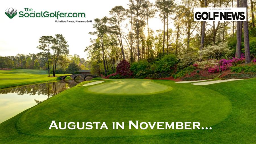 Augusta in November