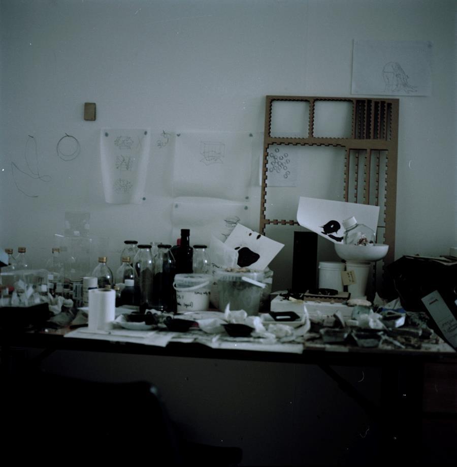 Kimia Witte's workspace