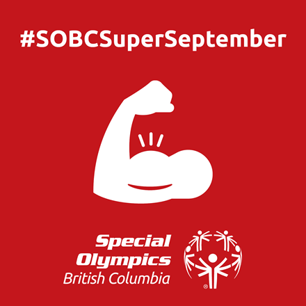 Special Olympics BC Super September icon