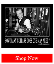 Joe Bonamassa 'How Many Guitars Does One Man Need' Poster