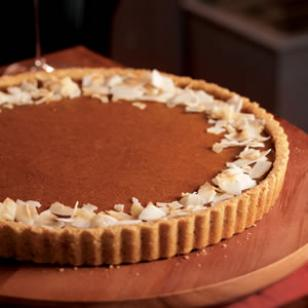 pumpkin coconut tart - activenow