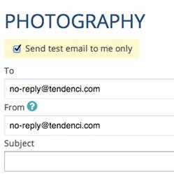 Email Group Screenshot