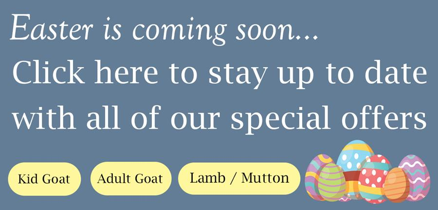 Easter Special Offers soon