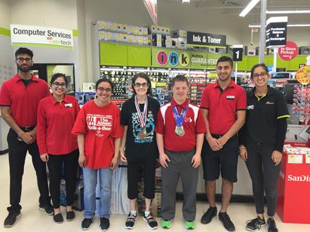 Staples Give a Toonie Share a Dream campaign