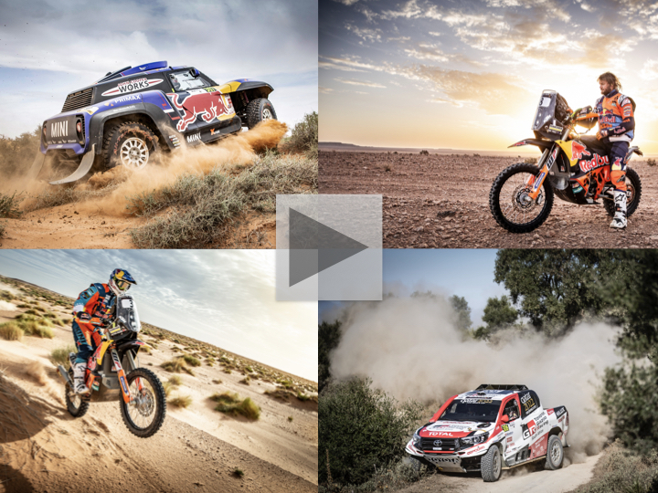 No shortage of drama on the dunes at the 2018 Rallye du Maroc