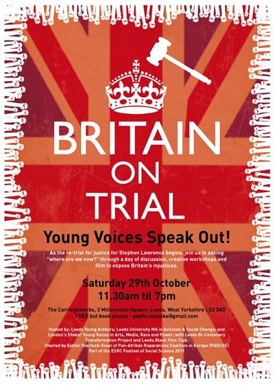 Britain on trial flyer