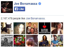Joe Bonamassa on Facebook. 2,159,975 people like Joe Bonamassa. Yay!