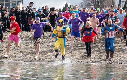 2016 Polar Plunge for Special Olympics BC