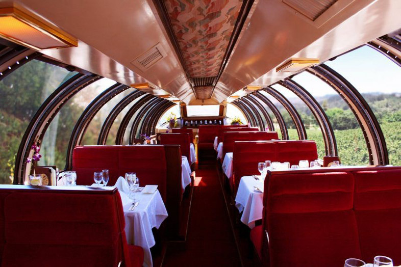 Napa Valley Wine Train Valentine's Day Specials