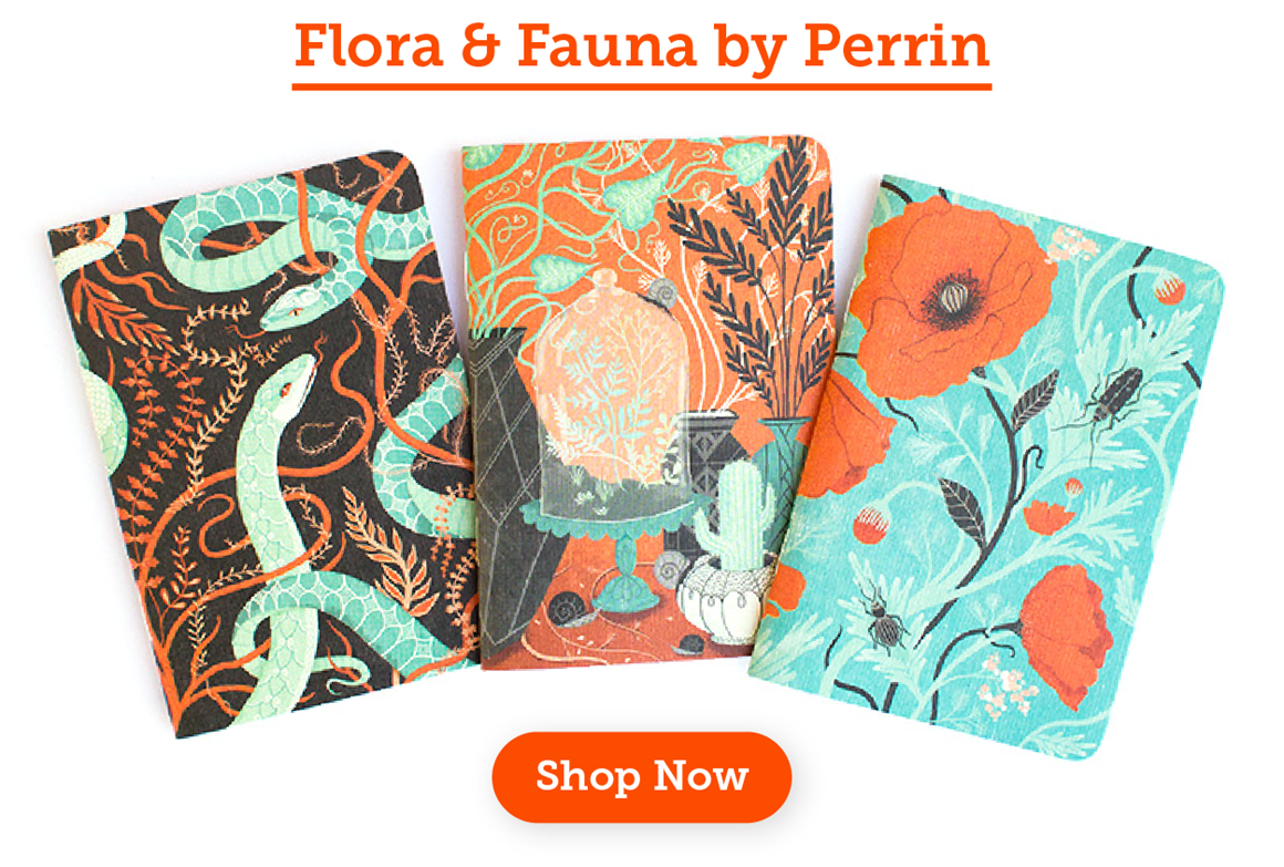 New Flora & Fauna Notebooks by Perrin