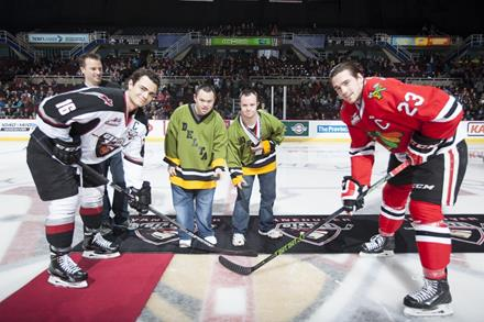 Law Enforcement Torch Run Vancouver Giants game fundraiser for SOBC