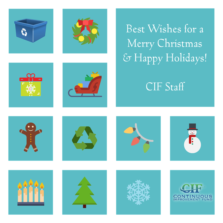 Merry Christmas and Happy Holidays from the CIF staff