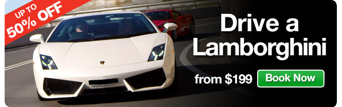 Save Up to 50% OFF Drive a Lamborghini from $199 @ Adrenalin.com.au