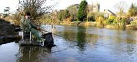 Fishing the Wye at Hereford