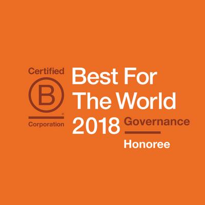 GECA Named Best for Governance on B Corporation's Best For the World List!