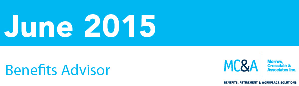 Morcro June 2015 Newsletter