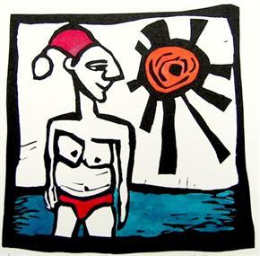 Santa by Jayne Strickland