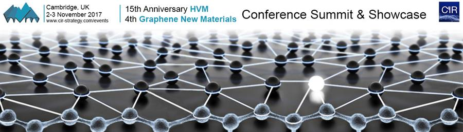 15th Anniversary High Value Manufacturing & 4th New Materials & Graphene Conference 2017